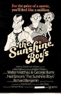 The Sunshine Boys - 27 x 40 Movie Poster - Style A