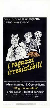The Sunshine Boys - 13 x 28 Movie Poster - Italian Style A