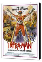 The Super Inframan - 11 x 17 Movie Poster - Style A - Museum Wrapped Canvas