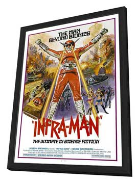 The Super Inframan - 11 x 17 Movie Poster - Style A - in Deluxe Wood Frame