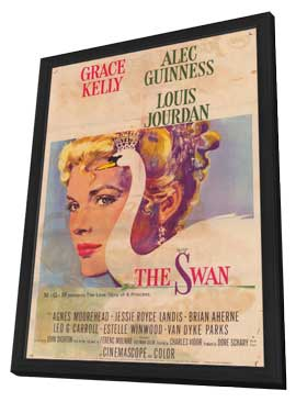 The Swan - 11 x 17 Movie Poster - Style A - in Deluxe Wood Frame
