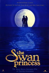 The Swan Princess - 11 x 17 Movie Poster - Style D