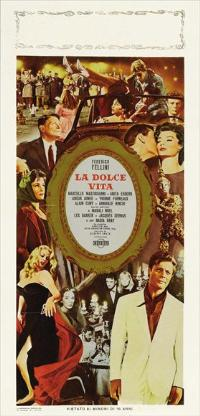 The Sweet Life - 13 x 28 Movie Poster - Italian Style A