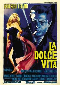 The Sweet Life - 43 x 62 Movie Poster - Italian Style A