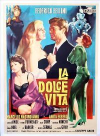The Sweet Life - 27 x 40 Movie Poster - Italian Style B