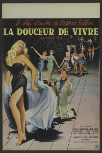 The Sweet Life - 11 x 17 Movie Poster - French Style A