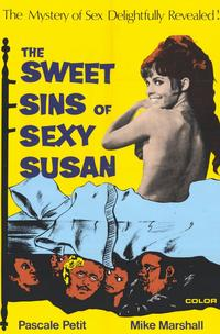 The Sweet Sins of Sexy Susan - 11 x 17 Movie Poster - Style A
