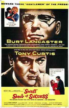 The Sweet Smell of Success - 11 x 17 Movie Poster - Style A