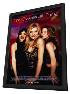 The Sweetest Thing - 27 x 40 Movie Poster - Style A - in Deluxe Wood Frame