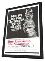 The Swimmer - 27 x 40 Movie Poster - Style A - in Deluxe Wood Frame
