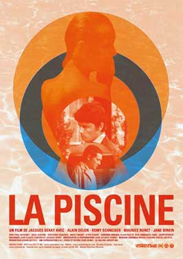 Swimming Pool - 11 x 17 Movie Poster - French Style A