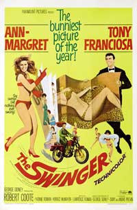 The Swinger - 43 x 62 Movie Poster - Bus Shelter Style A