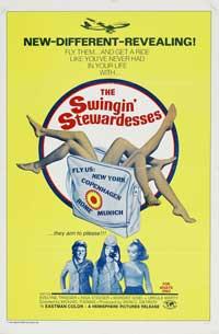The Swingin' Stewardesses - 11 x 17 Movie Poster - Swiss Style A