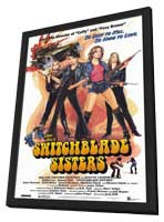 Switchblade Sisters - 11 x 17 Movie Poster - Style A - in Deluxe Wood Frame
