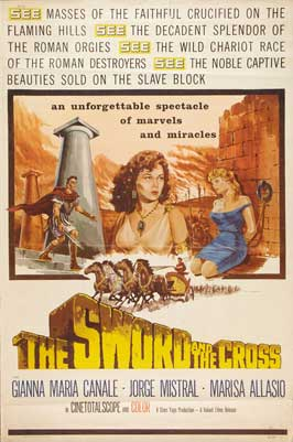 The Sword and the Cross - 11 x 17 Movie Poster - Style B