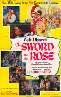 The Sword and the Rose - 11 x 17 Movie Poster - Style A