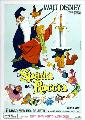 Sword in the Stone, The - 11 x 17 Movie Poster - Italian Style B