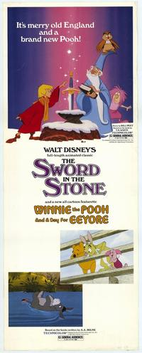Sword in the Stone, The - 14 x 36 Movie Poster - Insert Style B