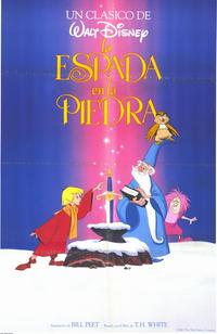 Sword in the Stone, The - 11 x 17 Movie Poster - Spanish Style A