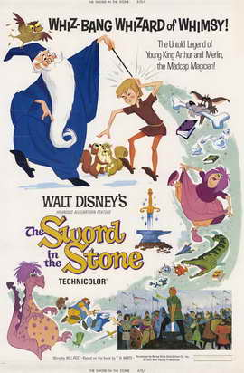 Sword in the Stone, The - 11 x 17 Movie Poster - Style D