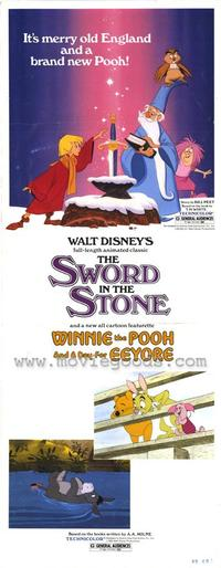 Sword in the Stone, The - 14 x 36 Movie Poster - Insert Style A