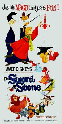 Sword in the Stone, The - 20 x 40 Movie Poster - Style A
