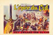 The Sword of El Cid - 27 x 40 Movie Poster - Belgian Style A