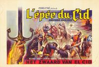The Sword of El Cid - 11 x 17 Movie Poster - Belgian Style A