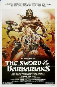 The Sword of the Barbarians - 27 x 40 Movie Poster - Style A