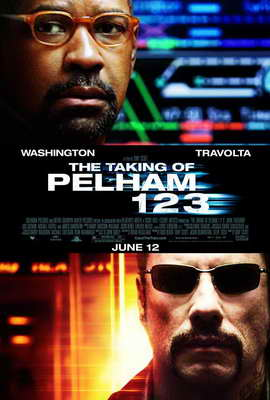 The Taking of Pelham 123 - 27 x 40 Movie Poster - Style B