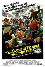 The Taking of Pelham One Two Three - 27 x 40 Movie Poster - Style C