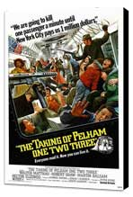 The Taking of Pelham One Two Three - 27 x 40 Movie Poster - Style C - Museum Wrapped Canvas