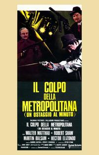 The Taking of Pelham One Two Three - 11 x 17 Movie Poster - Italian Style A