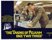 The Taking of Pelham One Two Three - 11 x 14 Movie Poster - Style E
