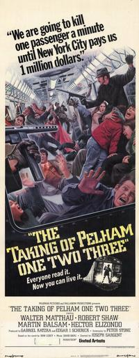 The Taking of Pelham One Two Three - 14 x 36 Movie Poster - Insert Style A