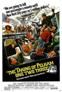 The Taking of Pelham One Two Three - 43 x 62 Movie Poster - Bus Shelter Style B