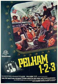The Taking of Pelham One Two Three - 11 x 17 Movie Poster - Spanish Style B