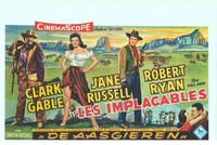 The Tall Men - 11 x 17 Movie Poster - Belgian Style A