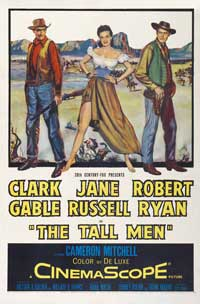 The Tall Men - 43 x 62 Movie Poster - Bus Shelter Style A