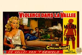 The Tall Stranger - 11 x 17 Movie Poster - Belgian Style A
