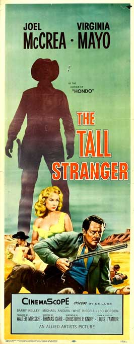 The Tall Stranger - 14 x 36 Movie Poster - Insert Style A