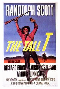 The Tall T - 27 x 40 Movie Poster - Style A
