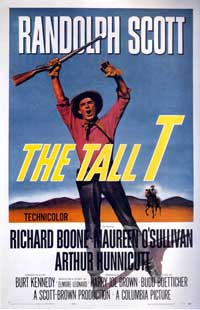 The Tall T - 43 x 62 Movie Poster - Bus Shelter Style A