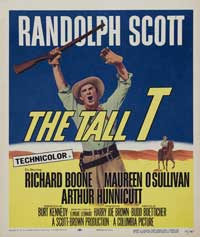 The Tall T - 40 x 40 - Movie Poster - Style A