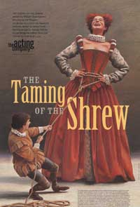 The Taming of the Shrew (Broadway) - 27 x 40 Poster - Style A