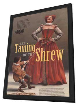 The Taming of the Shrew (Broadway) - 11 x 17 Poster - Style A - in Deluxe Wood Frame