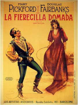 The Taming of the Shrew - 11 x 17 Movie Poster - Spanish Style A