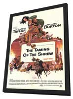 The Taming of the Shrew - 11 x 17 Movie Poster - Style B - in Deluxe Wood Frame