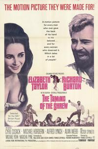 The Taming of the Shrew - 43 x 62 Movie Poster - Bus Shelter Style A