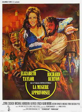 The Taming of the Shrew - 27 x 40 Movie Poster - French Style A